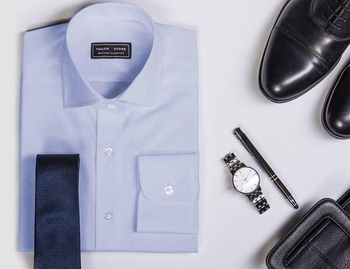 Tailor Store har skräddarsydda skjortor för alla storlekar och smaker.