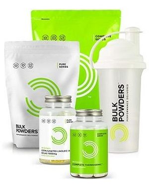 Bulk Powders produkter.