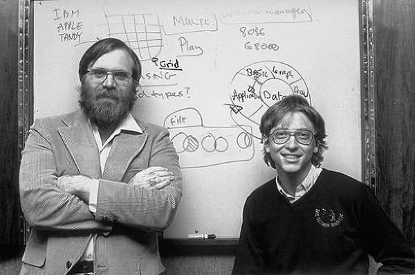 Microsofts grundare Bill Gates och Paul Allen.